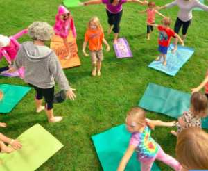 Yoga Rocks the Park Summer of 2013 ~ Kids Yoga Too!!!!  (Video)