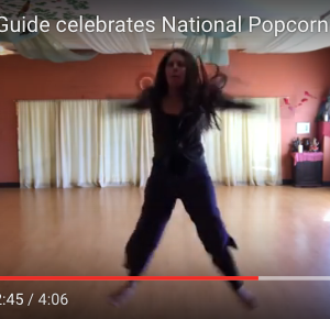 Kids Yoga Guide celebrates National Popcorn Day! (Video)