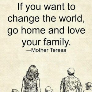 Change the world – Love your Family! Kids Yoga advice on this big day!