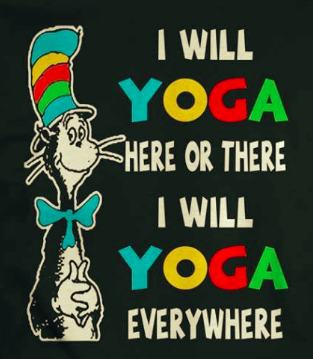 Kids Yoga Guide honors Dr. Seuss Day!