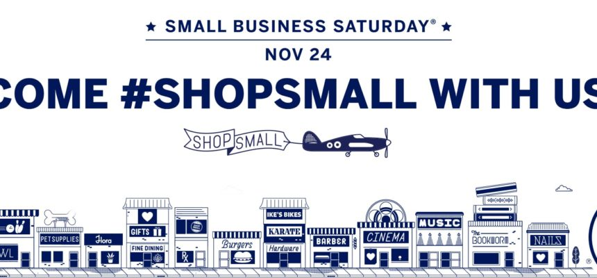 Small Business Saturday ~ 20% Discount on Packages TODAY!